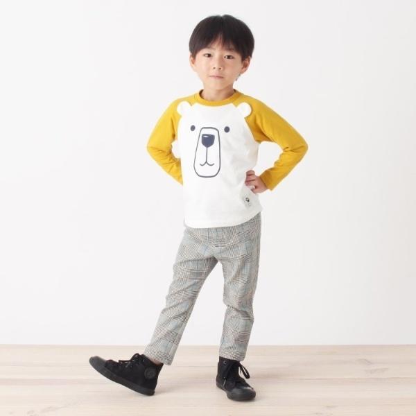 [マルイ] アニマルフェイスプルオーバー/サンカンシオン(キッズ)(3can4on Kids)