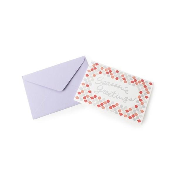 [マルイ]【セール】アソート タイル風クリスマスカード/グローブ(grove)