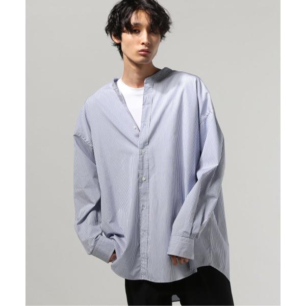 [マルイ]【セール】メンズシャツ(THOMAS MASON/トーマスメイソン: FAT STANDシャツ)/ジャーナルスタンダード トライセクト(Journal Standard TRISECT)