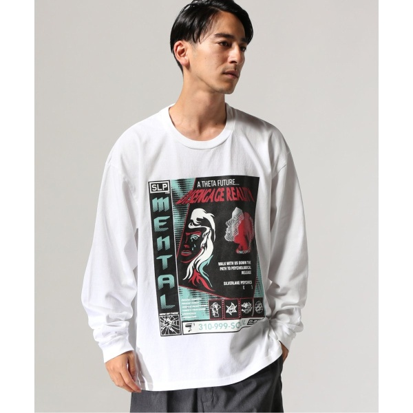 [マルイ]【セール】メンズTシャツ(silverlakepsychics.×TRISECT-2 WHTロングスリーブ)/ジャーナルスタンダード トライセクト(Journal Standard TRISECT)