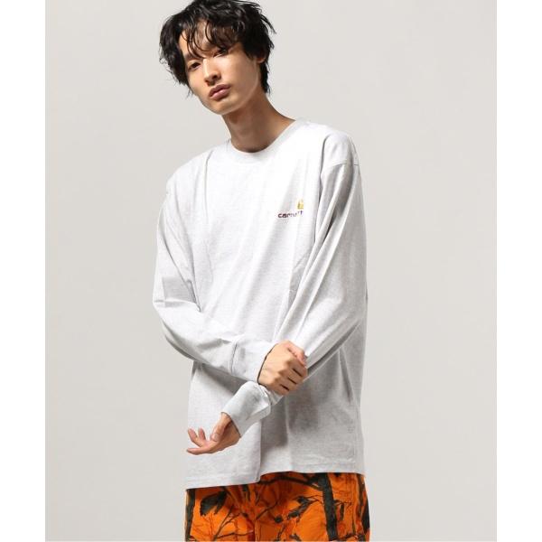 [マルイ] メンズTシャツ(【CARHARTT WIP / カーハート ダブリューアイピー】L/S AMERICAN SCRIPT T-SHIRT)/ジャーナルスタンダード(メンズ)(JOURNAL STANDARD MEN'S)