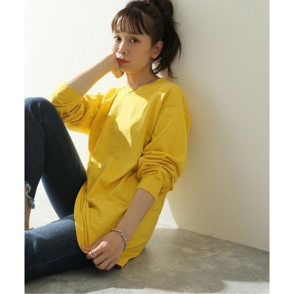 [マルイ] レディスカットソー(【LA APPAREL / ロサンゼルスアパレル】6.5oz Long Sleeve Garment Dye:カットソー)/ジャーナルスタンダード レリューム(レディース)(JOURNAL STANDARD relume)