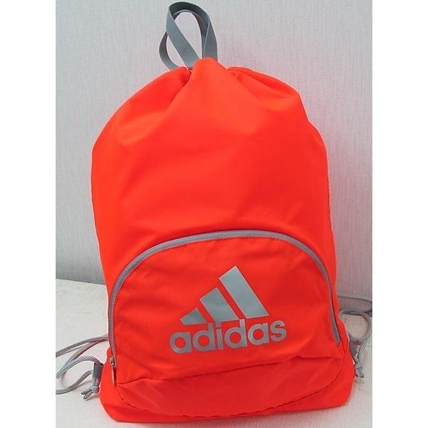 [マルイ] サッカー ボール用ナップ 赤色×灰色/アディダス(スポーツオーソリティ)(adidas)
