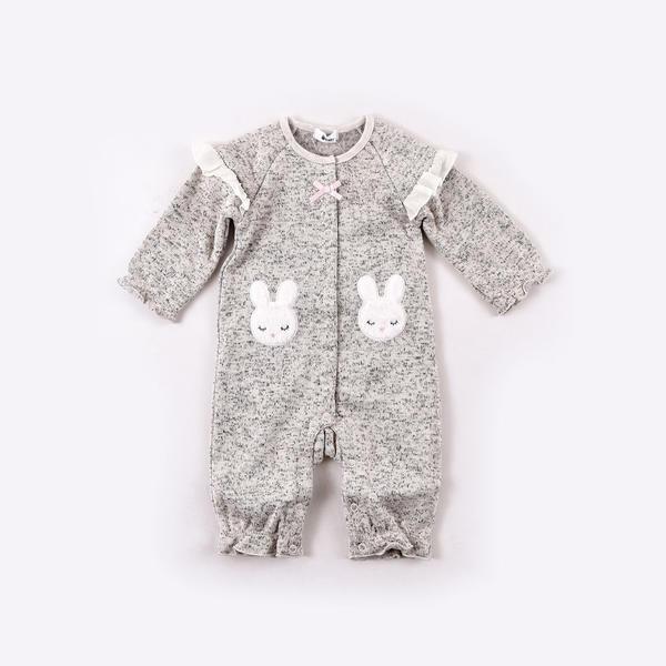 マルイウェブチャネル[マルイ]【セール】ニットフリースウサギパッチカバーオール/イーベビー(e-baby)