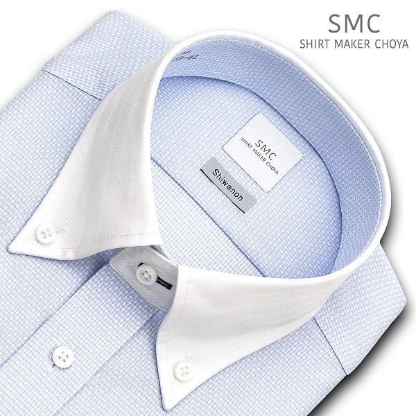 [マルイ]【セール】形態安定クレリックボタンダウンカラーワイシャツ/SMC(smc)