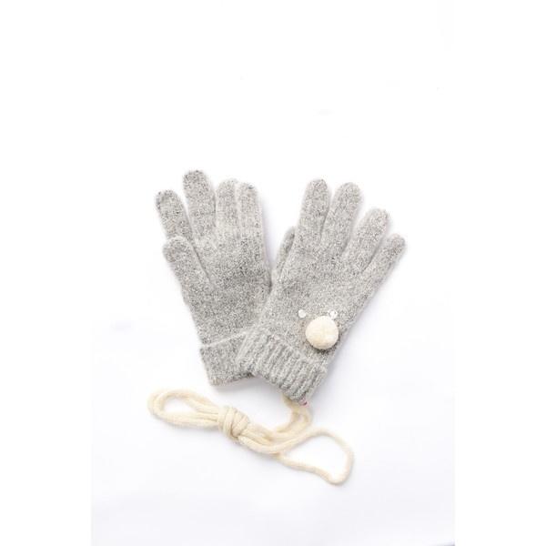 マルイウェブチャネル[マルイ]【セール】ラインストーンのかわいい手袋/KP(ケーピー)(KP)