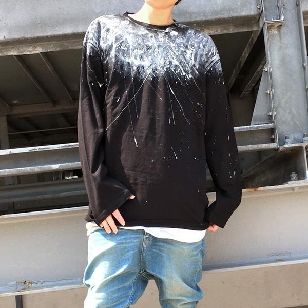 長袖カットソー(メンズ)