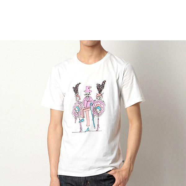 [マルイ]【セール】ムーランルージュT/プリントTシャツ/モルガンオム(MORGAN HOMME)