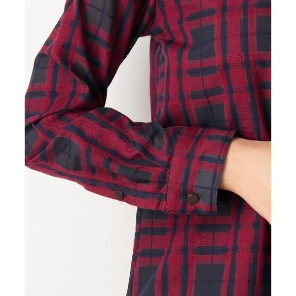 【トールサイズ】オーガンチェックシャツ