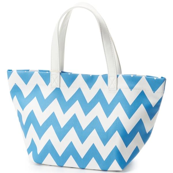 マルイウェブチャネル[マルイ]【セール】Chevron Lunch Bag/シェブロン柄 ランチバッグ/カロンディ(Calondy)