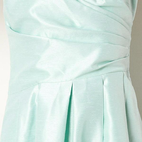 シャンタンサイドタックブライダルキャミドレス(結婚式/二次会/謝恩会/パーティー)