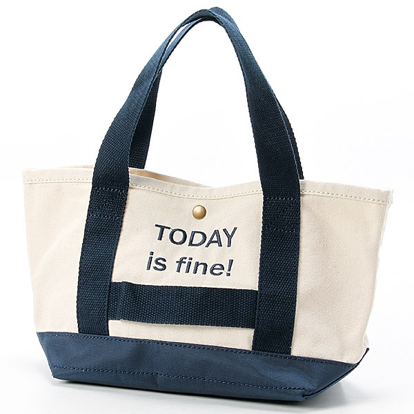 マルイウェブチャネル[マルイ]【セール】キャンバス 刺繍ロゴ ランチバッグ/SALON DE CALONDY (サロンドカロンディ)