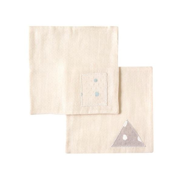 [マルイ] NAOMI ITO POCHO OG ハンカチ2枚セット さんかくしかくセット/ディモワ(10mois)