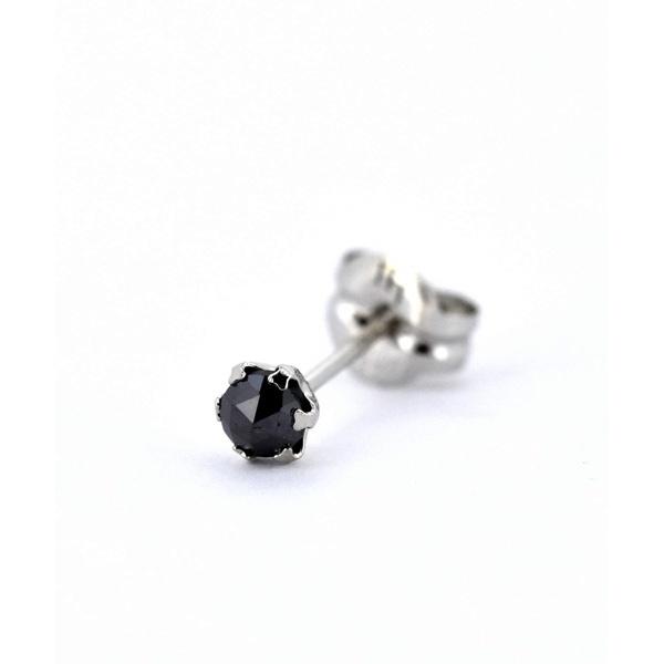 LH PROGRESSO ブラックダイヤモンドピアス/Sサイズ