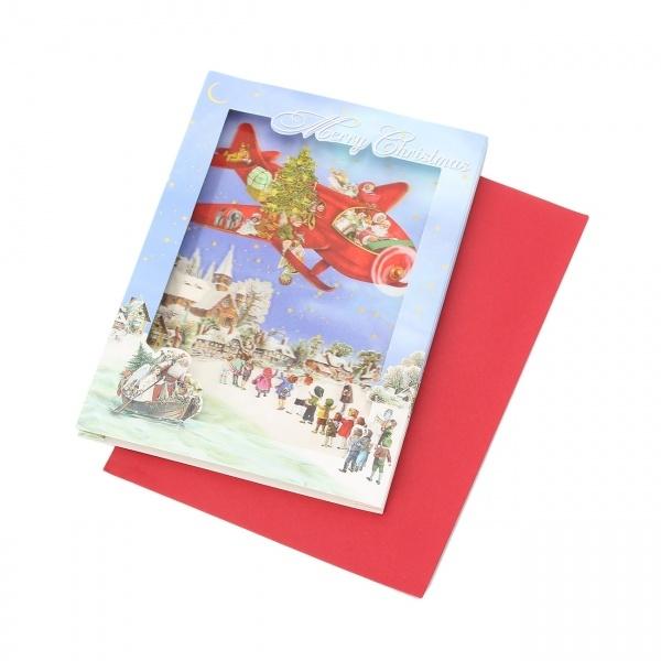 マルイウェブチャネル[マルイ]【セール】Lグッズ(クラシカルクリスマス3Dカード)/グローブ(grove)