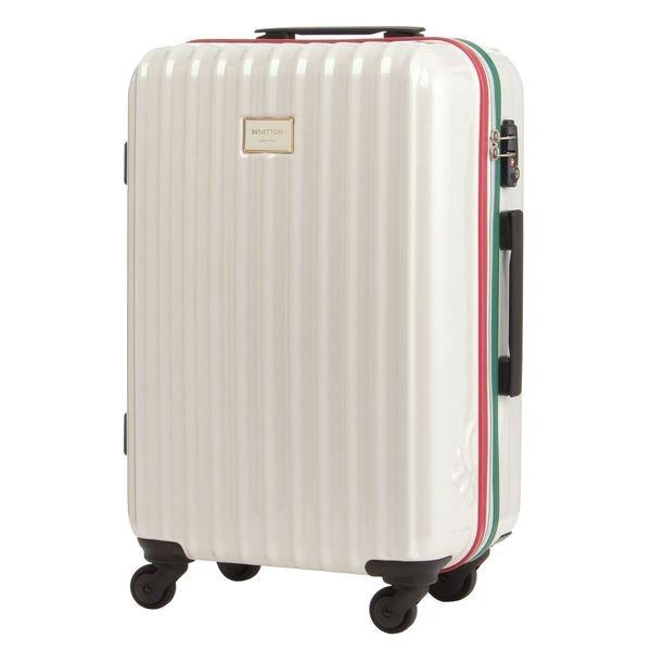 マルイウェブチャネル[マルイ] 静走ラインキャリーバッグ・スーツケース(M)容量約48L 静音/ベネトン レディース(UNITED COLORS OF BENETTON)