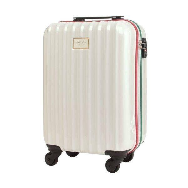 マルイウェブチャネル[マルイ] 静走ラインキャリーバッグ・スーツケース(S)機内持込可 容量約29L 静音/ベネトン レディース(UNITED COLORS OF BENETTON)