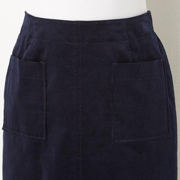 【豊富なサイズXXS~7L】コーデュロイロングタイトスカート