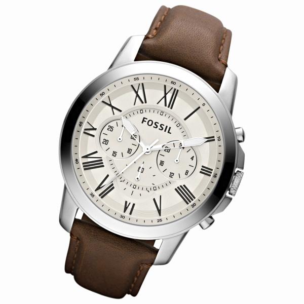 [マルイ]【セール】メンズ時計(GRANT【FS4735】アナログ・革ベルト)/フォッシル(FOSSIL)
