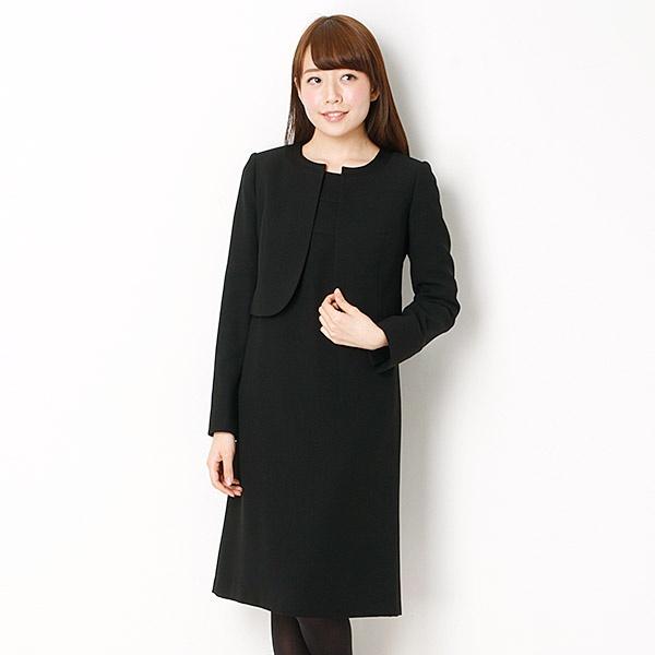 [マルイ] スーツ(ブラックフォーマルスーツ)/喪服/ブラックフォーマル/レディース/女性/ソワールペルル(東京ソワール)