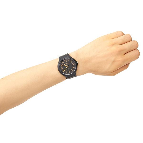 【ユニセックス時計】カシオアナログビッグフェイスウォッチ(クオーツ【型番:MW-240-1B2】)