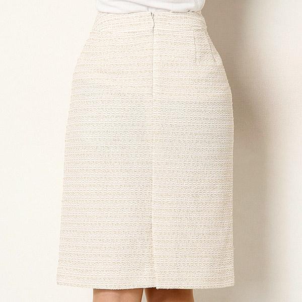 【セレモニースーツ】ラメループツィード3点スーツ(スカート付)