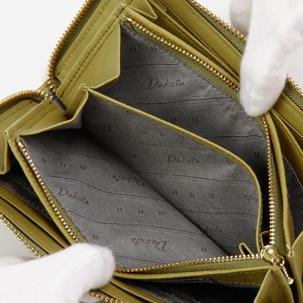 財布(レザーラウンドファスナー長財布)