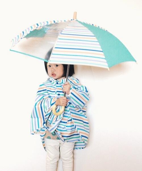 マルイウェブチャネル[マルイ]【セール】【選べる6柄】レインキッズセット★傘とポンチョのお得なセット(キッズ/傘/レインコート)/WPC フォーキッズ(w.p.c for kids)