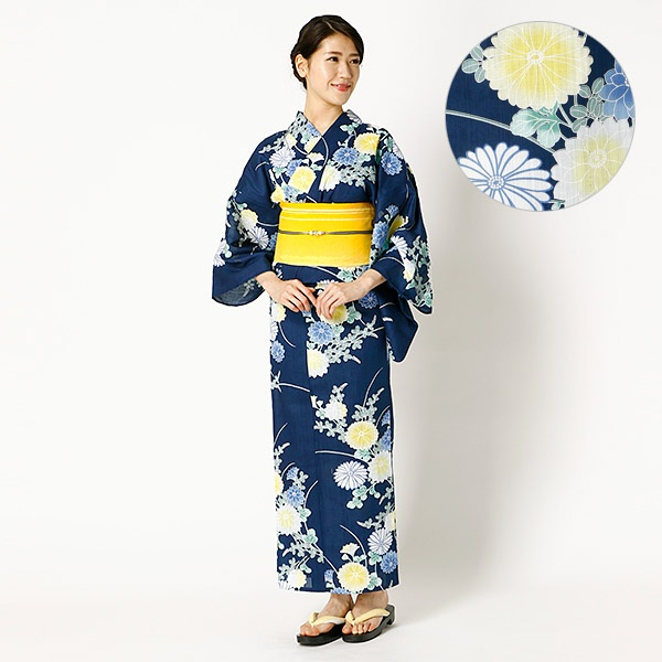 [マルイ] 菊と秋草/アールユー(浴衣)