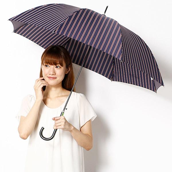 【長傘(ジャンプ式)・2サイズから選べる】雨傘/ワンタッチタイプ/レディース