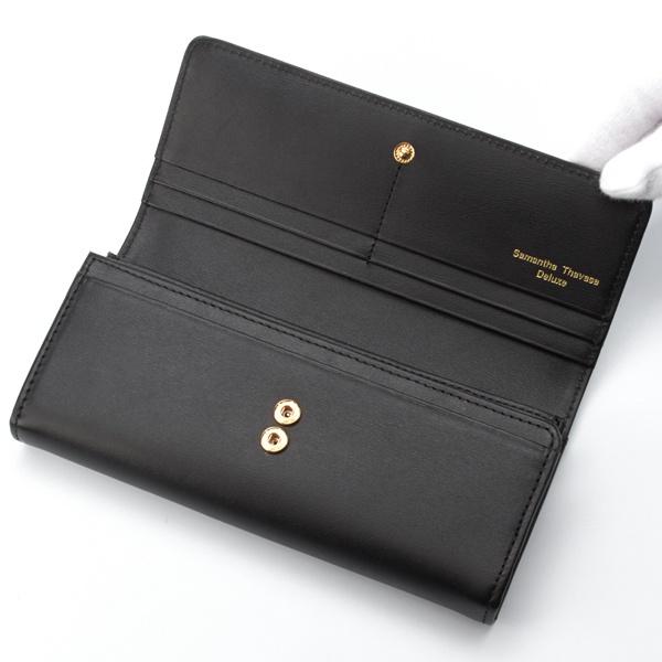 シンプルレザー長財布