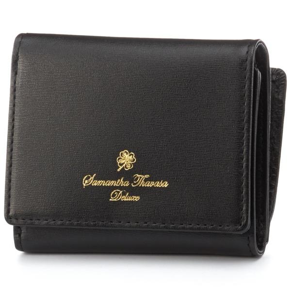 シンプルレザー折財布