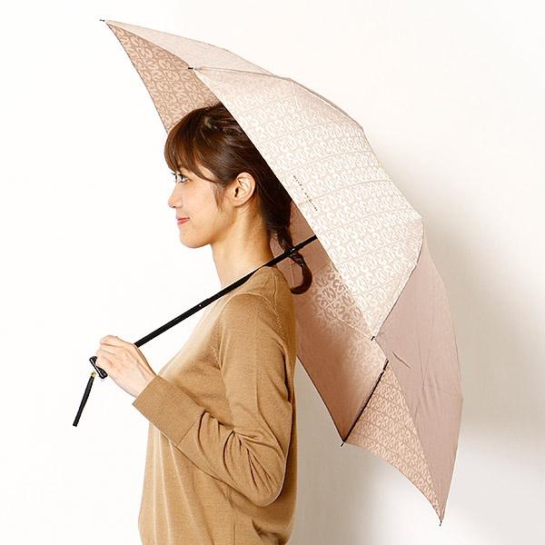 雨傘(3段/折りたたみ/ミニ)(レディース)ジャカード