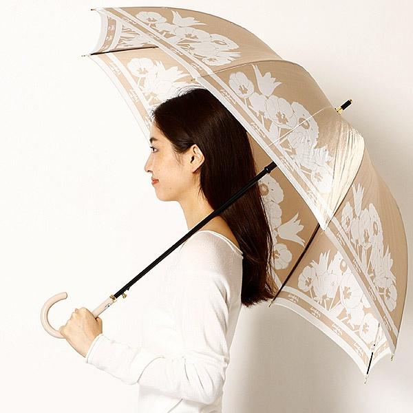 雨傘(ジャンプ傘)【耐風】(レディース)花柄