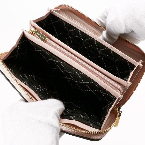 シャレード ラウンドファスナー長財布