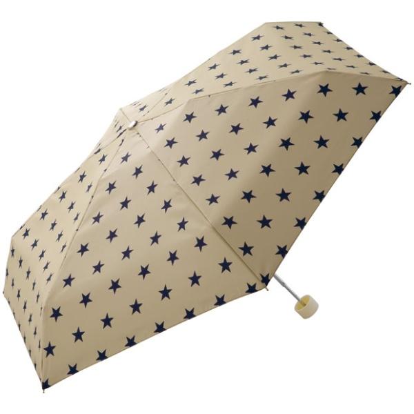 【折りたたみ傘】【サイドファスナー】ベーシックスター mini (雨傘/レディース)