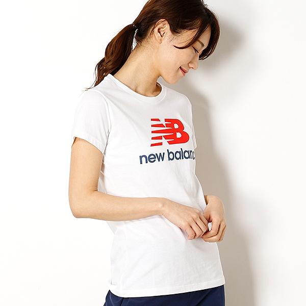 【ニューバランス】レディースロゴTシャツ