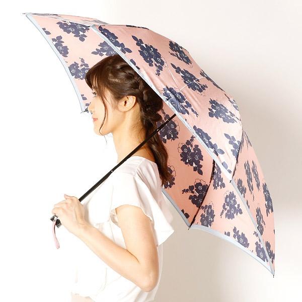 [マルイ]【セール】雨傘(折りたたみ傘/3段/ミニ傘)花柄/影花(婦人/レディース)/ビバユー(雑貨)(VIVA YOU)