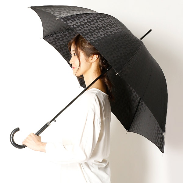 [マルイ]【セール】雨傘(長傘/ジャンプ傘)ジャカード/幾何柄(婦人/レディース/ビバユー(雑貨)(VIVA YOU)