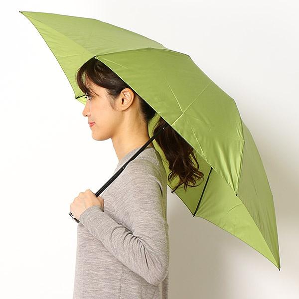 [マルイ]【セール】雨傘【手開きタイプ/折り畳み傘】ポリエステルタフタ 無地(レディース/婦人)/ミラ・ショーン(雑貨)(mila schon)