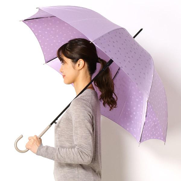 [マルイ]【セール】雨傘【ジャンプタイプ/長傘】Pジャガード花柄(レディース/婦人)/ビバユー(雑貨)(VIVA YOU)