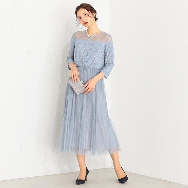 (5サイズ展開)チュールスカートドレス