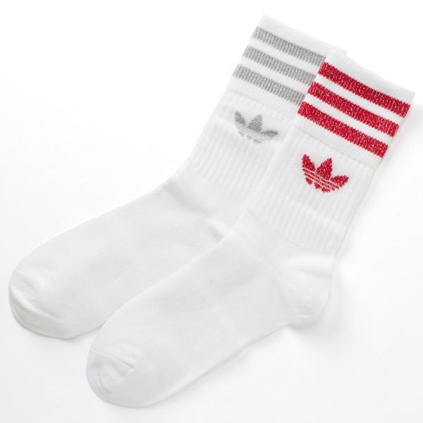 [マルイ] 【adidas Originals】MID CUT CREW SOCKS 3P/アディダス オリジナルス(adidas originals)