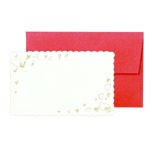 [マルイ] 箔押しカード(スペシャルハート)/包む有料ギフト