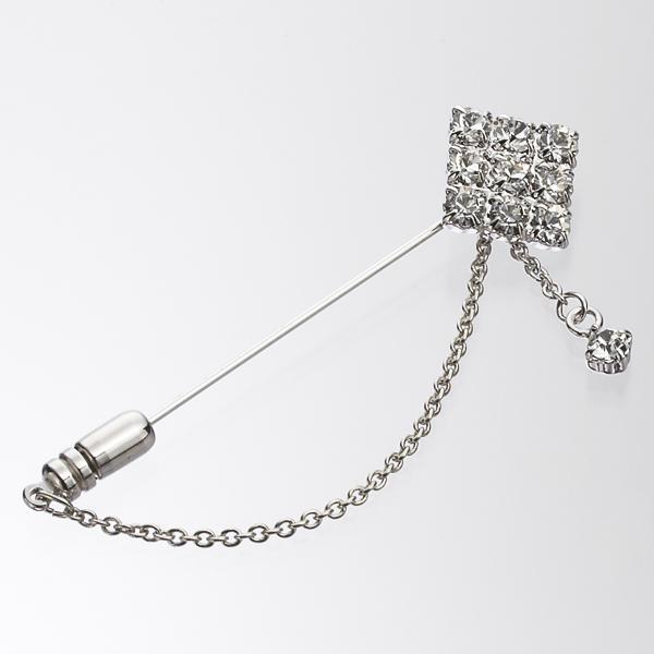 マルイウェブチャネル[マルイ] ラペルピン(クリスタルガラスラペルピン)/コムサ メン(COMME CA MEN)