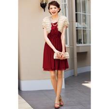 ドレス/クイーンクラレット